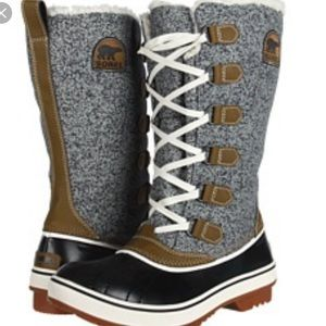 Sorel Tivoli High Autumn Lace Up Waterproof Boots